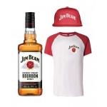 Jim Beam Bourbon, T-shirt and Hat Bundle