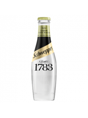 Schweppes 1783 Salty Lemon Tonic 12 x 200ml