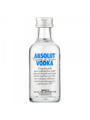 Absolut Blue Vodka Miniature 5cl
