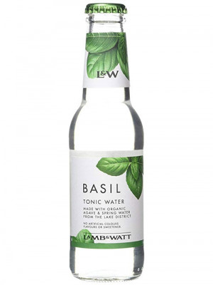 Lamb & Watt Basil Tonic 12 x 200ml
