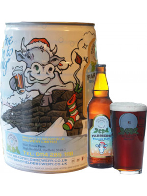 Bradfield Brewery - Belgian Blue Mini Keg 5 litre