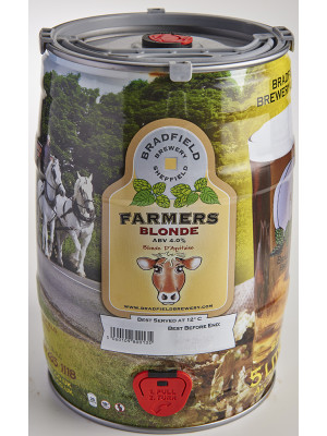 Bradfield Brewery - Farmers Blonde Mini Keg 5 litre