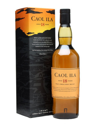 Caol Ila 18 Year Old Single Malt 70cl