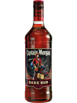 Captain Morgan Black Label Dark Rum 70cl