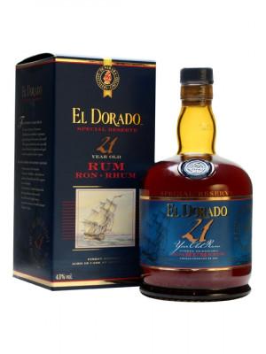 El Dorado 21 yo 70cl