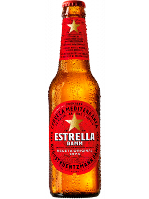 Estrella Damm Beer 24 x 330ml