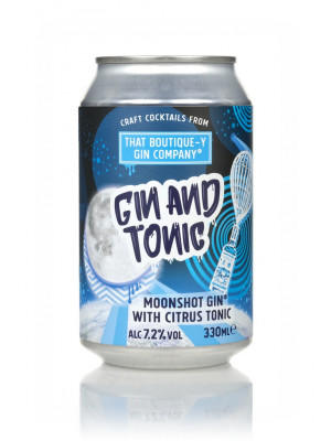 That Boutique-y Gin Company Gin and Tonic Can 330ml