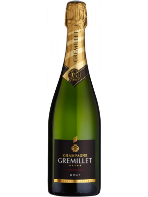 Champagne Gremillet Selection Brut (in gift box) NV 75cl