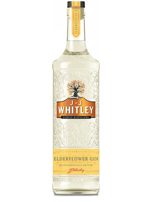 J.J. Whitley Elderflower Gin 70cl