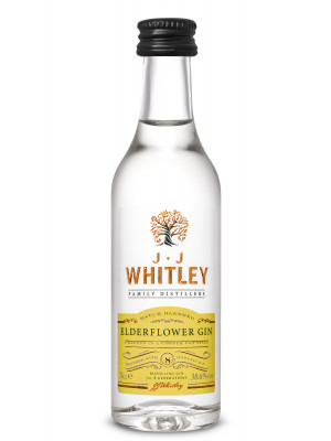 JJ Whitley Elderflower Gin Miniature 5cl