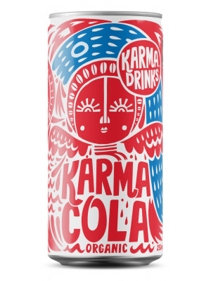 Karma Cola Organic Fairtrade Cans 24 x 250ml