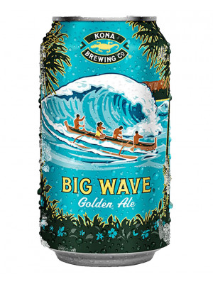 Kona Big Wave Golden Ale 24 x 355ml Cans