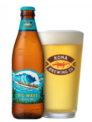 Kona Big Wave Golden Ale 24 x 355ml