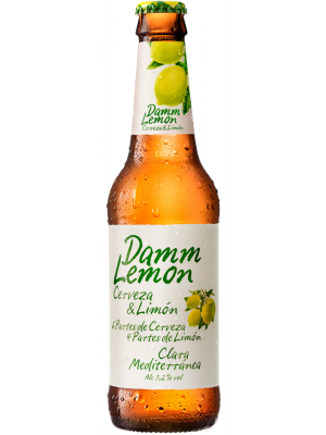 Damm Lemon Beer - 330ml x 24