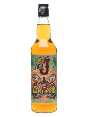 Admiral Vernons Old J Tiki Fire 70cl