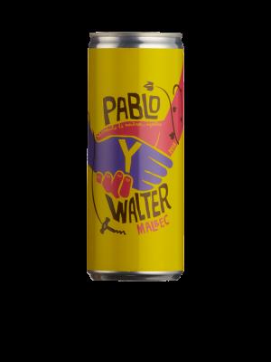Pablo Y Walter Malbec (25cl can)