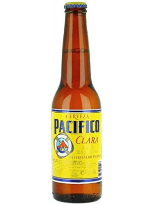 Pacifico Clara Beer 4 x 355ml