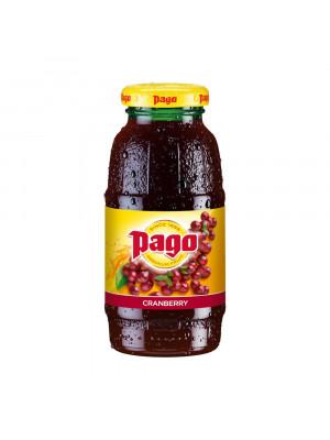 Pago Cranberry Juice 1x200ml