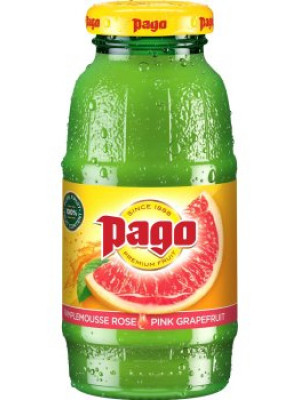 Pago Pink Grapefruit Juice 12x200ml