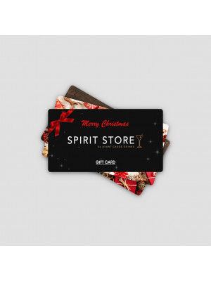 Gift Card Drinks Voucher - Spirit Store (Christmas Design)