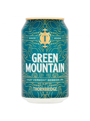 Thornbridge Brewery - Green Mountain IPA 12 x 330ml Cans