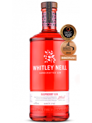 Whitley Neill Raspberry Gin 70cl
