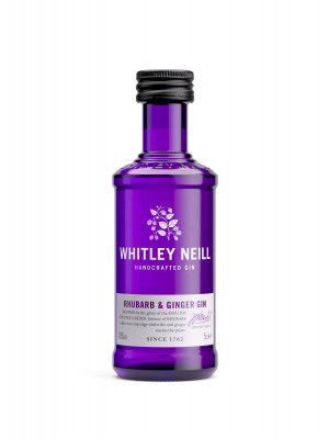 Whitley Neill Rhubarb and Ginger Gin Miniature 5cl