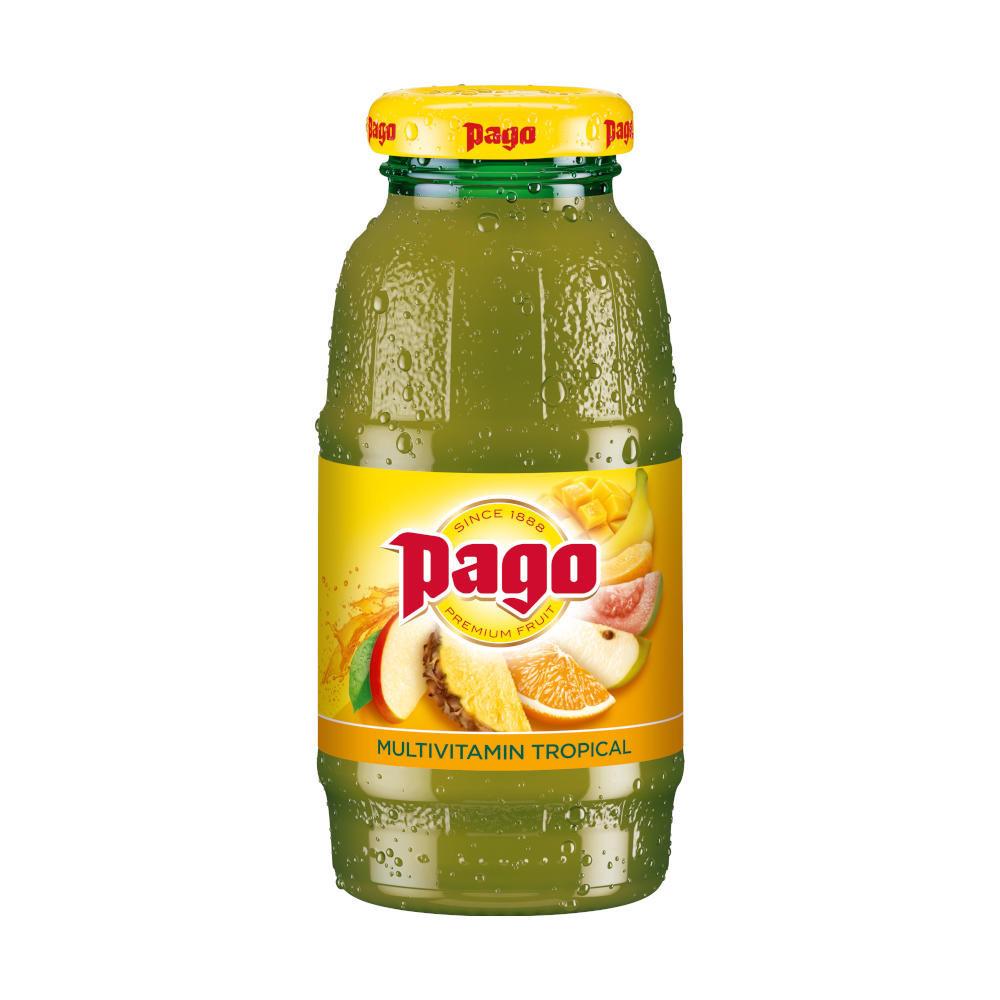 Pago Mulitvitamin Tropical Juice 12x200ml