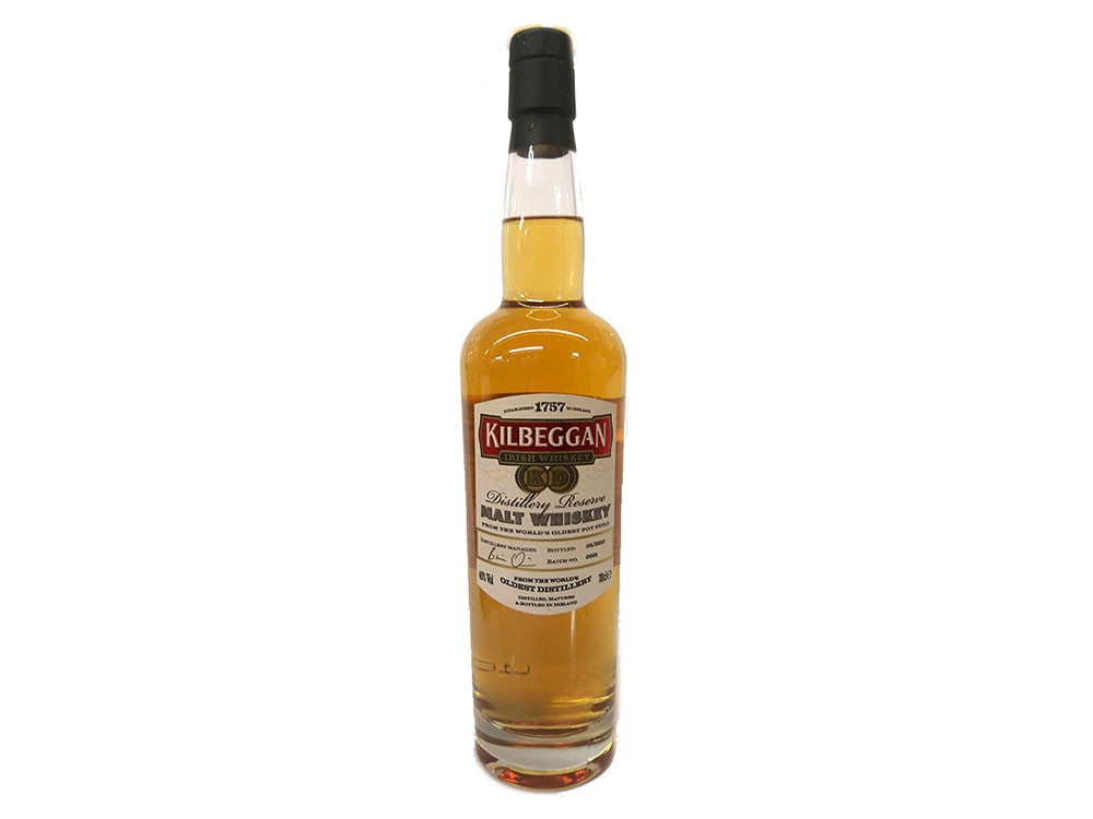 Kilbeggan Distillery Reserve Malt Whiskey 70cl