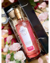 The Lakes Rhubarb and Rosehip Gin Liqueur 70cl and 2oz Kelham Candle Co Set