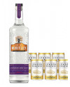 Buy any JJ Whitley 70cl spirit and receive 6 London Essence tonic cans free