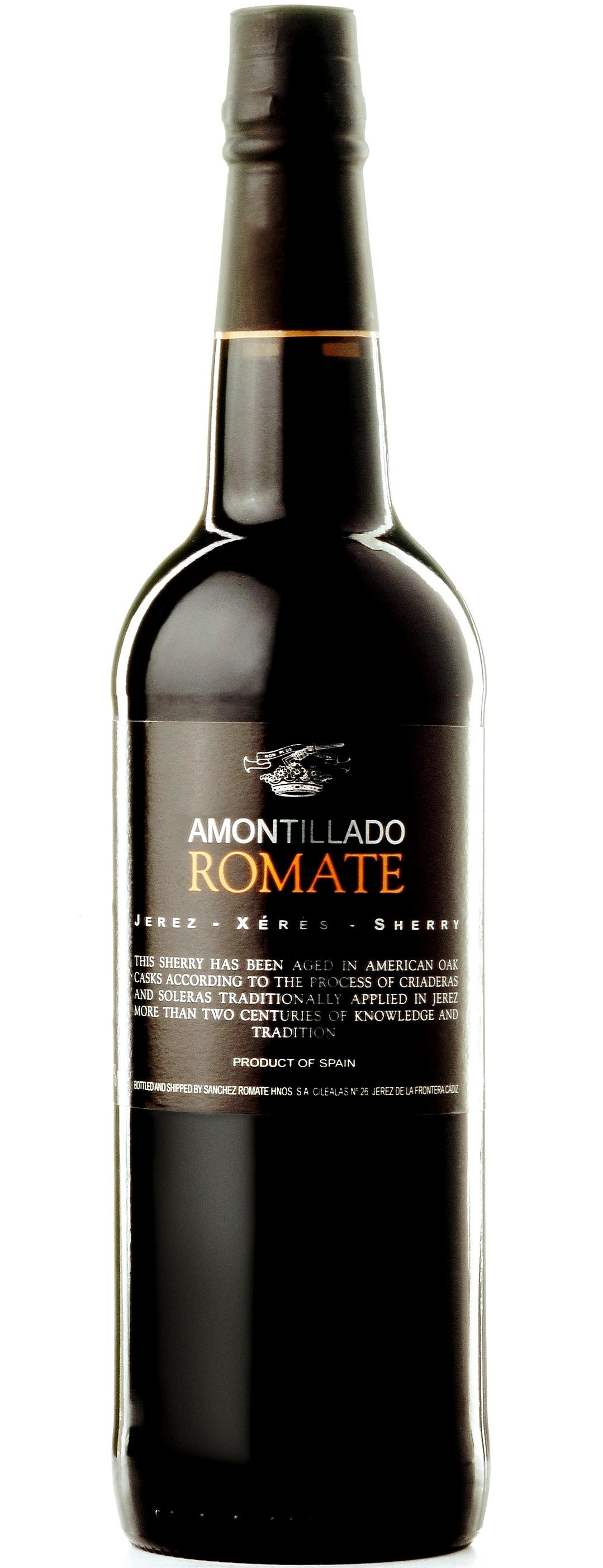Romate Amontillado Sherry 75cl