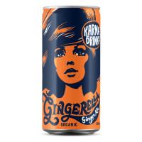 Karma Drinks - Organic Fairtrade Gingerella Ginger Ale Cans 24 x 250ml