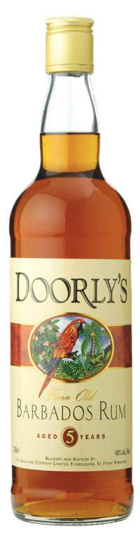 Doorlys 5yo Rum 70cl