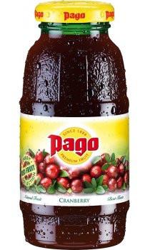 Pago Cranberry Juice 12x200ml