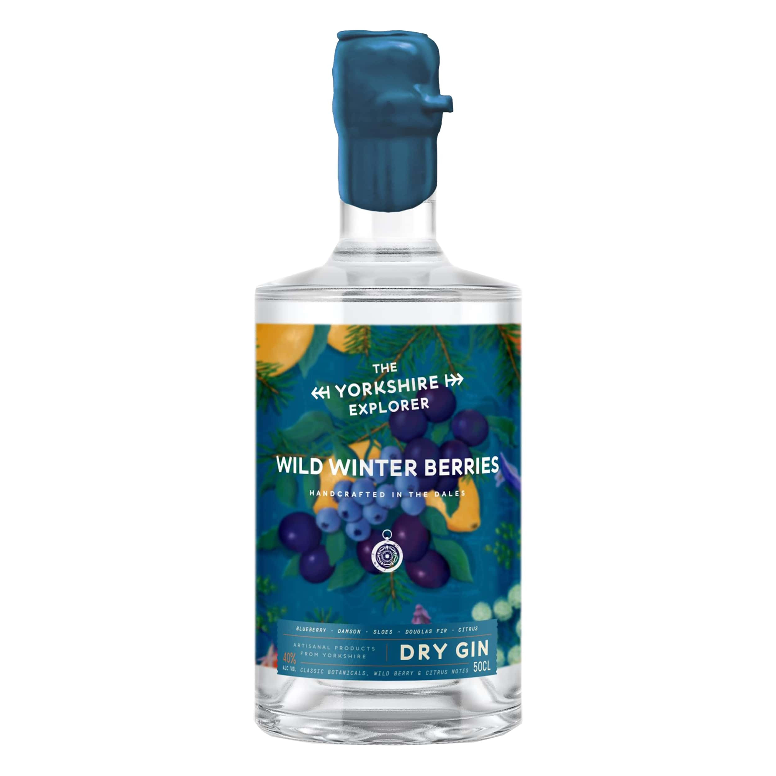 The Yorkshire Explorer - Wild Winter Berries Gin 50cl