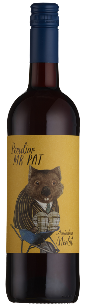 Peculiar Mr Pat Merlot, South Eastern Australia 75cl
