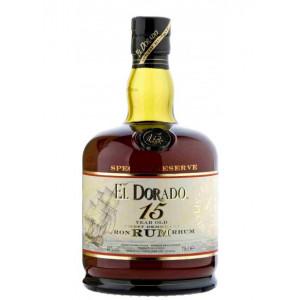 El Dorado Rum 15 Year 70cl