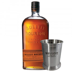 Bulleit Bourbon 70cl & Bulleit Julep Tin Gift Set