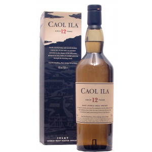 Caol Ila 12yo Scotch Whisky 70cl