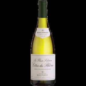 Boutinot 'La Fleur Solitaire', Côtes du Rhône Blanc 2018 75cl
