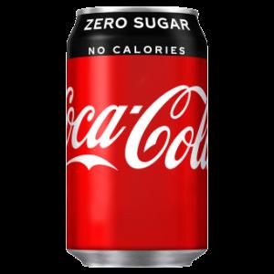 Coca Cola Zero 24 x 330ml Cans