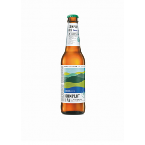 Damm Complot IPA 24x330ml bottles