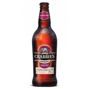 Crabbies Raspberry Alcoholic Ginger Beer 12 x 500ml