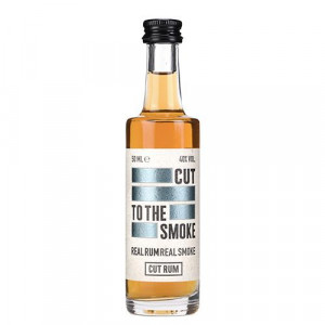 Cut Smoked Rum Miniature 5cl