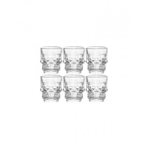 Skull Shot Glasses - Dead Man's Fingers Rum - Pack of 6