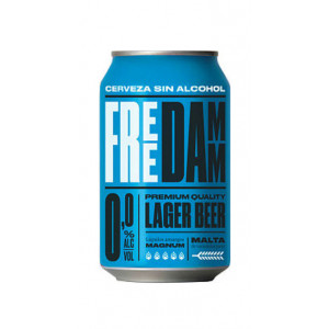 Free Damm 24 x 330ml Cans