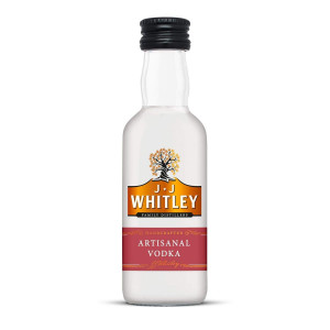 JJ Whitley Artisanal Vodka Miniature 5cl