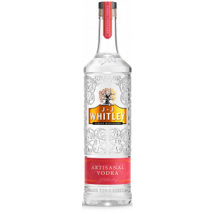 JJ Whitley Artisanal Vodka 70cl