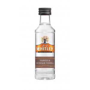 JJ Whitley Vanilla Vodka Miniature 5cl